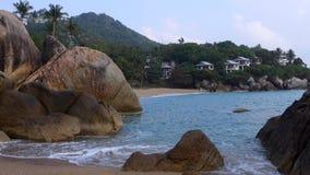 Coral Cove Beach, Koh Samui, Tail?ndia, ?sia video estoque
