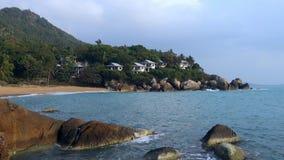 Coral Cove Beach, Koh Samui, Thailand, Azië stock footage