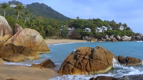 Coral Cove Beach, Koh Samui, Thailand, Azië stock video
