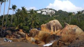 Coral Cove Beach, Koh Samui, Thailand, Azië stock videobeelden
