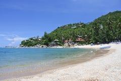 Coral cove silver beach near lamai ko samui thailand Royalty Free Stock Images
