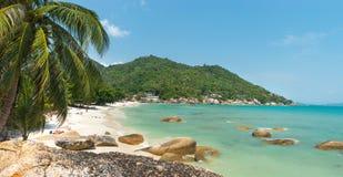 Coral Cove strandsikt på Koh Samui Island Arkivbild
