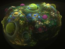 Coral del fractal Fotos de archivo libres de regalías