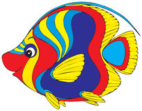 Coral fish. Vector clip-art / children's illustration for your design Royalty Free Stock Image