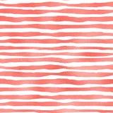 Coral foil stripes. Stock Photo