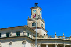 Coral Gables City Hall stock photo