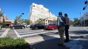 Coral Gables Cityscape Time Lapse banque de vidéos
