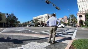 Coral Gables Cityscape Time Lapse clips vidéos