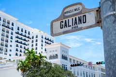 Coral Gables Cityscape Royalty Free Stock Images