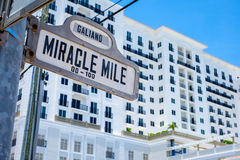 Coral Gables Cityscape Stock Image