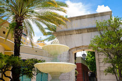 Coral Gables Cityscape Stock Images
