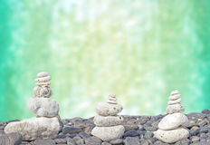 Coral heaps on stones. Royalty Free Stock Photos