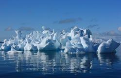 Coral iceberg. Strange coral iceberg in Antarctica, art of nature Royalty Free Stock Photography