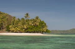 Coral island near Port Barton, Philippines Royalty Free Stock Photo