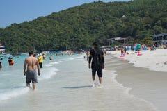 Coral Island, Pattaya, Thailand royalty free stock photo