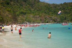 Coral Island, Phuket Royalty-vrije Stock Afbeelding
