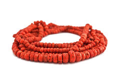 Coral jewelry Royalty Free Stock Images