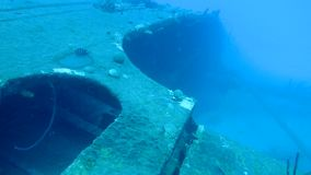 Ship wreck Hilma Hooker Bonaire island caribbean sea underwater 1080P video. Coral life underwater video 1080p Caribbean Sea travel stock footage