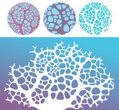 Coral. Objects. Vector illustration (EPS 10 Royalty Free Stock Photos