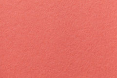 Coral old paper background. Thick cardboard. Royalty Free Stock Photo