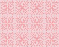 Coral Pink Geometric Triangle Pattern Vector Background. Rose Gold Shimmering Metallic Gradient Faceted Low Poly Print. 2019 Color royalty free illustration