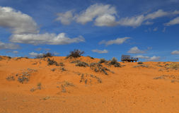 Coral Pink Sand Dunes Park Fotografía de archivo