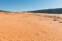 Coral Pink Sand Dunes Royalty Free Stock Photos