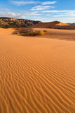 Coral Pink Sand Dunes State Park. In Southern Utah Stock Image