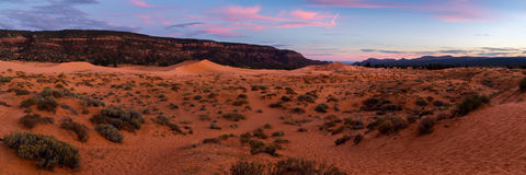 Coral Pink Sand Dunes State Park. In Southern Utah Royalty Free Stock Photo