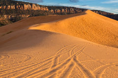 Coral Pink Sand Dunes State Park. In Southern Utah Stock Photos