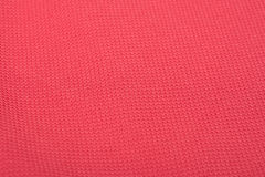 Coral Red Fine Cotton Textile Photo libre de droits