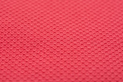 Coral Red Fine Cotton Textile Royaltyfria Foton