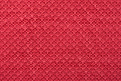 Coral Red Fine Cotton Textile Royalty-vrije Stock Afbeeldingen