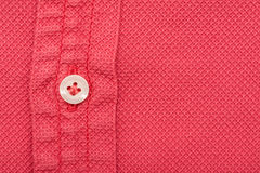 Coral Red Men Shirt Stock Image