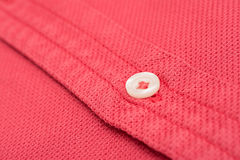 Coral Red Men Shirt Stock Photo