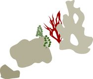 Coral Reef Arkivbild