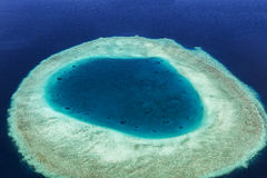 Coral Reef and detail of Atoll Royalty Free Stock Photos