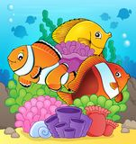 Coral reef fish theme image 7 Stock Images