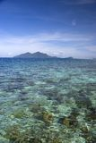 Coral Reef and Island Stock Images