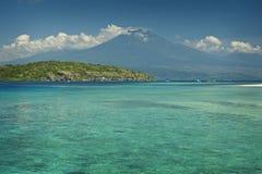 Coral Reef, Menjangan-Eiland royalty-vrije stock fotografie