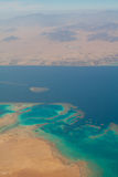 Coral reef. Red sea. Desert. Sinai. Egypt Royalty Free Stock Photography