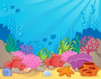 Coral reef theme image 4 Stock Photography