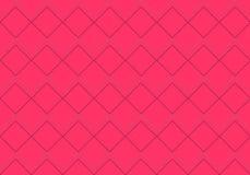 Coral Rhombus Pattern illustrazione vettoriale