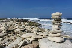 Coral Rock Piles Fotografie Stock Libere da Diritti