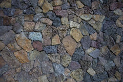 Coral rock wall background Stock Photo