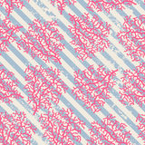 Coral Seamless Pattern Royalty-vrije Stock Foto