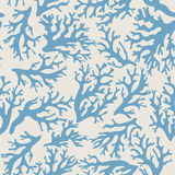 Coral, seashells seamless pattern in vintage style. Vector illustration Stock Photo