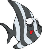 Coral small fish . Cartoon Stock Photography