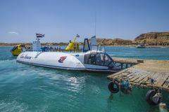 Coral submarine in sharm el sheikh Royalty Free Stock Photography