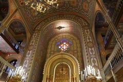 Coral Temple binnen Royalty-vrije Stock Foto's
